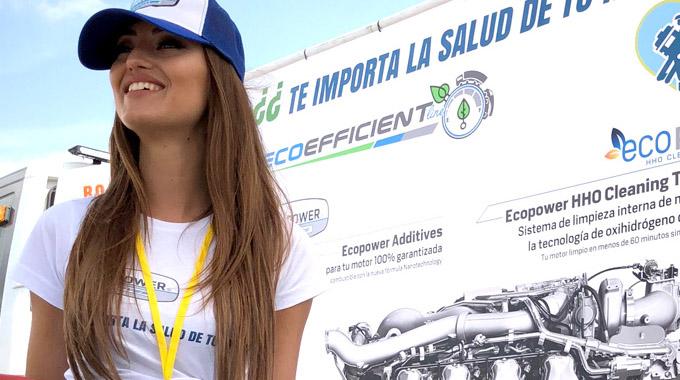 Ecoefficient-line Presenta Sus Marcas En El Nascar Fest 2018.